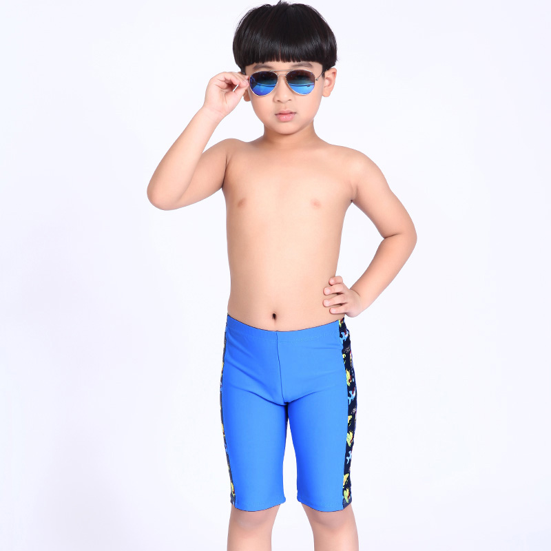 1c266a0e69 Boys Swimming Trunks Children Cartoon Swimwear Briefs Patchwork Summer Kids  Swimsuit Boy Bathing Suit for 4 13 Years Old-in Children s Briefs from  Sports ...