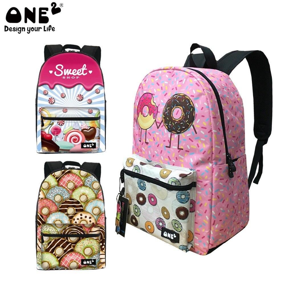 adolescentes com donut design bolsa Abacamento / Decoração : Nenhum