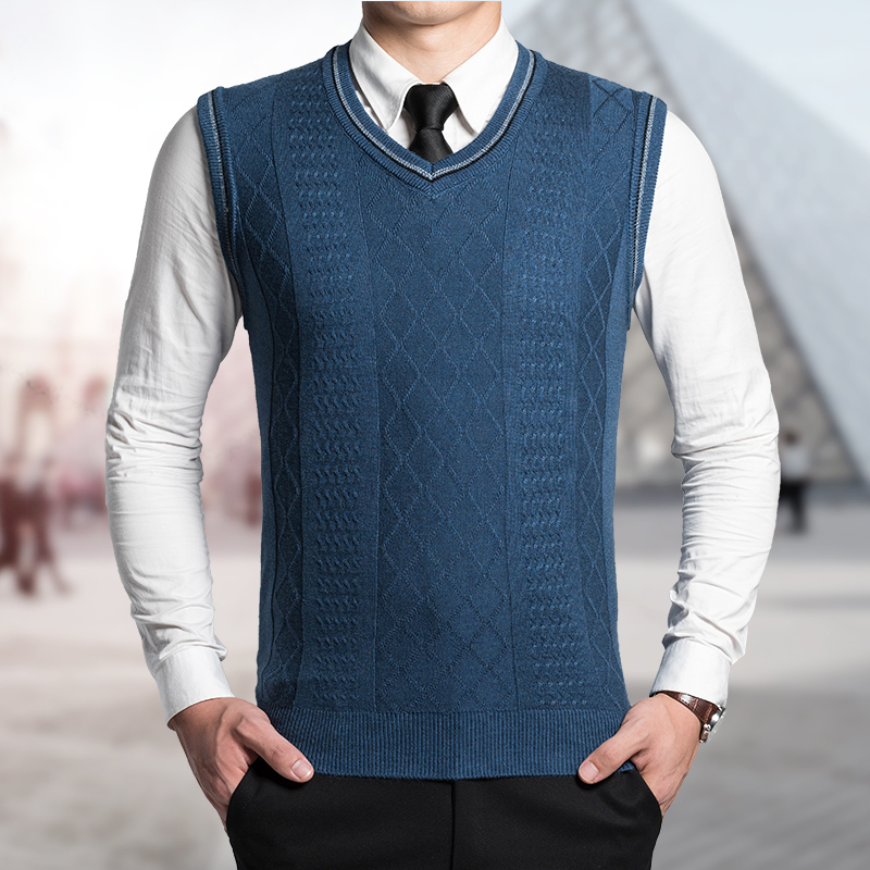 Knit Sweater Vest Pattern : Popular Men Sweater Vest Knitting Pattern-Buy Cheap Men Sweater Vest Knitting...