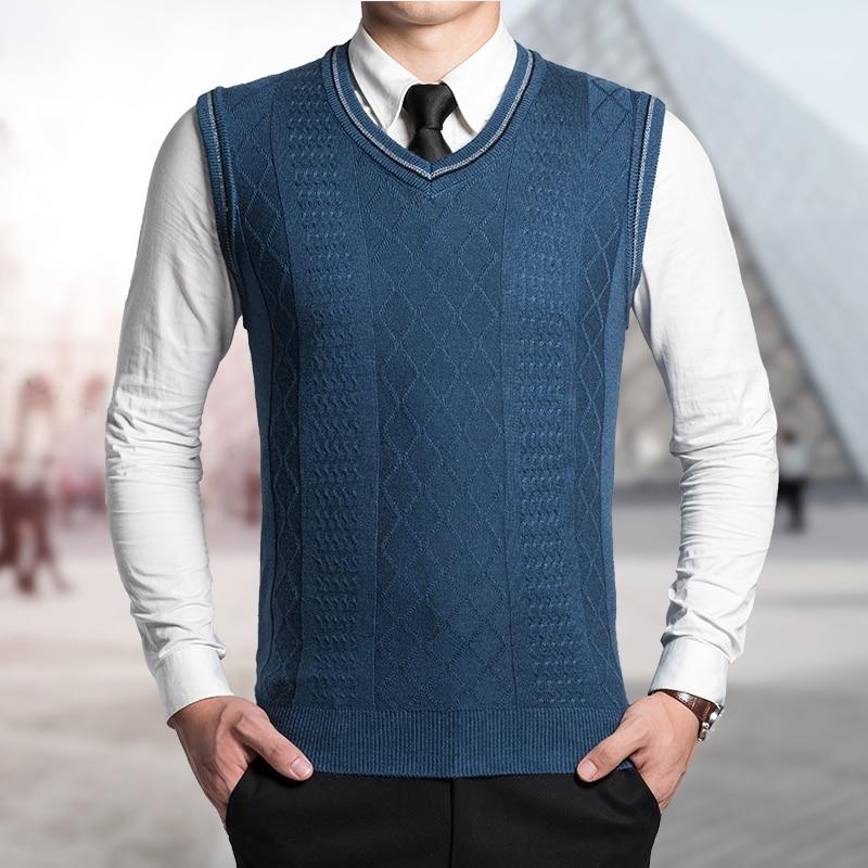Knitting Pattern Men s Sweater Vest : Popular Men Sweater Vest Knitting Pattern-Buy Cheap Men ...