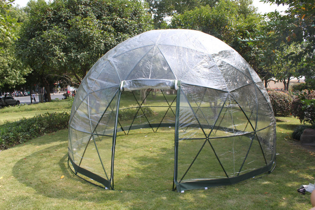 free shipping new products all year round multi-functional geodesic dome gazebo tent garden Igloo & free shipping new products all year round multi functional ...