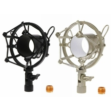 New Metal Shockmonut Studio Recording Microphone Shock Mount Spider Mic Holder Clip For Broadcast Computer BM 700 800 BM-800