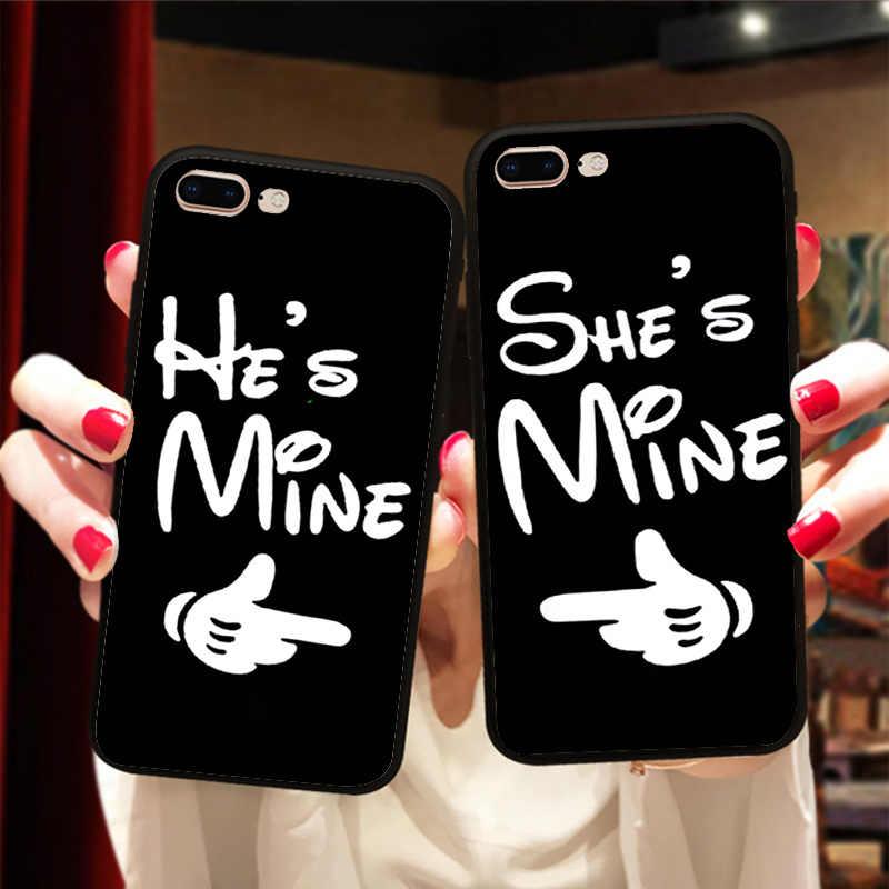 27d681e1da ... I Love My Boyfriend Girlfriend BFF Couple Matching Case Cover For iPhone  X 8 5S SE ...