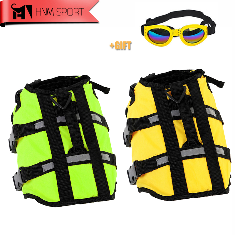 Professional Dog Life Jacket Pet Safety Reflective Strip Vest Swimming Supplies