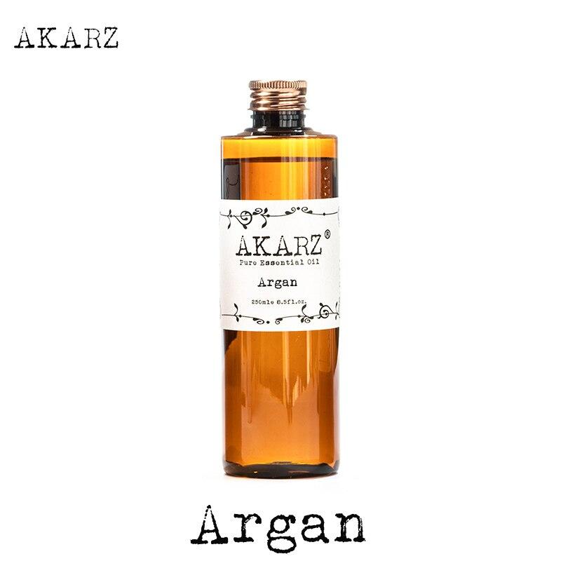 AKARZ Famoso di marca naturale Argan Marocco olio di noce di olio essenziale di aromaterapia naturale highcapacity della pelle cura del corpo di massaggio spa