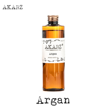 AKARZ العلامة التجارية الشهيرة الطبيعية أرغان المغرب الجوز النفط زيت طبيعي الروائح الطبيعية عالية السعة الجلد العناية بالجسم سبا مساج