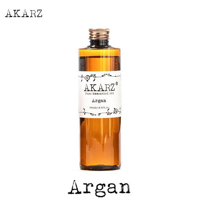 AKARZ מפורסם מותג טבעי ארגן מרוקו אגוז שמן חיוני שמן טבעי ארומתרפיה highcapacity עור גוף טיפול עיסוי ספא