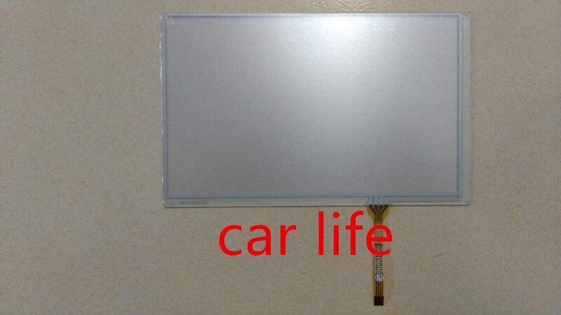 Оптовая продажа, 10 шт., 7-дюймовый 4-контактный стеклянный сенсорный экран, дигитайзер, объектив для AT070TN84 AT070TN83 V1 LW700AT9309 LCD