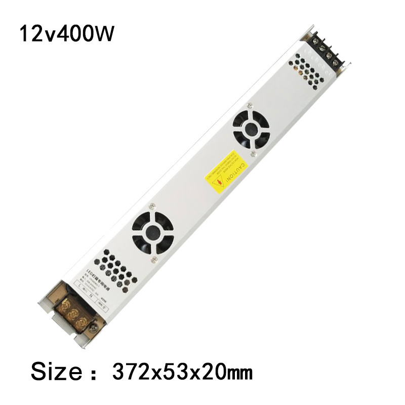Ultra Thin Switching Power Supply 12V/24V 150W 200W 300W 400w LED Electronic Transformer For LED Strip Light Box