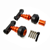 For KTM DUKE 125 200 390 Orange Motorcycle Falling Protection Frame CNC Aluminum Sliders Crash Protector