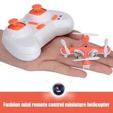 Mini 2.4G 4CH 6 Axis Gyro Helicóptero RC Cheerson CX-10C CX-10C CX10C Juguetes de Control Remoto Quadcopter Drone con Cámara de $ number MP