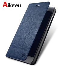 Aikewu For Huawei Y7 Prime Case Enjoy 7 Plus Luxury Leather Book Style Flip Cover for