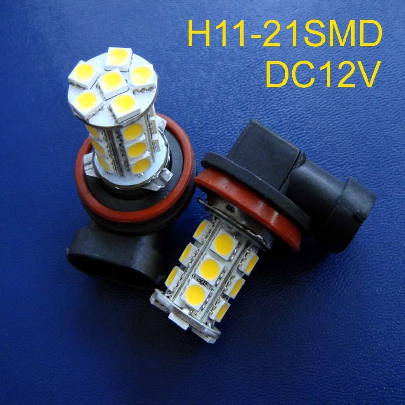 Hot selling 12V H11 led fog lights,led car H8 fog lights,car H11 led bulbs free shipping 20pcs/lot