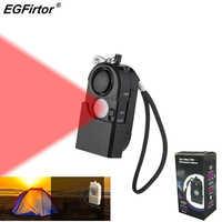 2 Pcs Sicherheit Alarm Reise Infrare PIR Motion Sensor Detektor Camping Schutz Selbstverteidigung Reise Anti-diebstahl Persönlichen Alarm