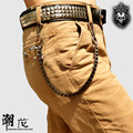 Moda Punk Hip-Hop Pantalones Masculinos de La Cadena Cadena de La Cintura Cinturón de Moda Caliente de Las Mujeres de Los Hombres Pantalones Vaqueros de Aleación De Accesorios de Vestir Regalo 1 UNID
