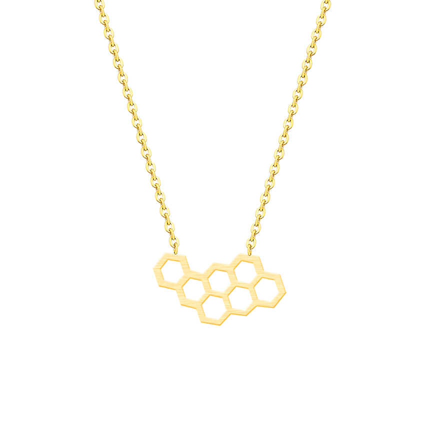 Cute Honeycombs Necklace