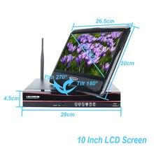4CH 1080 P HD Открытый ИК Ночное Видение видеонаблюдения безопасности 4 шт. IP Камера 2MP WI-FI CCTV Системы Беспроводной NVR комплект HDD