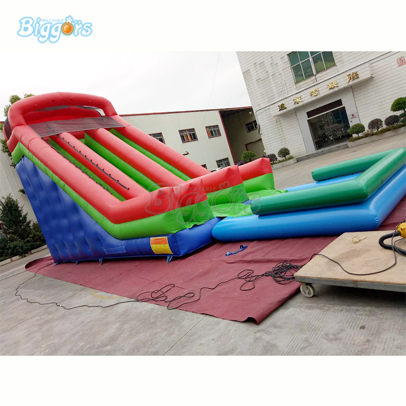 Inflatable Water Park Games With Slide Inflatable Water Slide Pool inflatable biggors amusement park inflatable slide with pool for water games