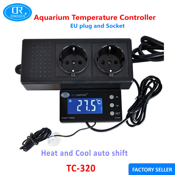 Aquarium Controller 10 Steps With Pictures: RINGDER TC 320EU 230V10A 16 40C Digital Aquarium