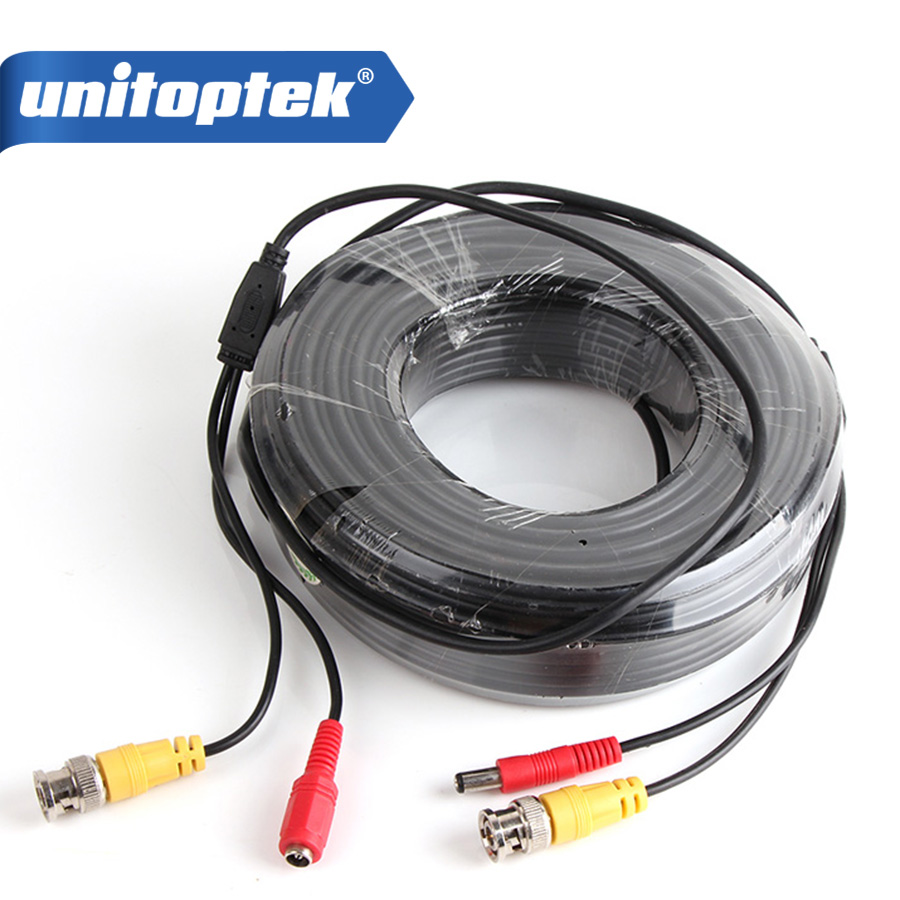 High Definition CCTV Camera BNC Video Power Extension Cable 30M For CCTV Camera,2*BNC female connector,1*DC female,1*DC male