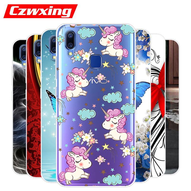 Vivo Y91i Case VivoY91i Case Silicone TPU Back Cover Protective Soft Phone Case For Vivo Y93 Y 93 91i VIVOY93 Case 6.22 inch