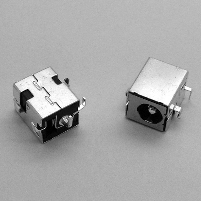 2.5mm Laptop DC AC Jack,Power Socket Plug Connector for Asus X52J X52F A52 A52F A53E A53S A53SV K52 K52JR K52F K53 20pcs 5 5mm x 2 1mm round dc socket panel mounting power adapter dc power jack socket connector plug receptacle plastic