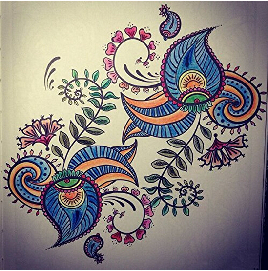 Inspiration ZEN 50 Mandalas Anti Stress Volume 1coloring Books For Adults 2015 Best Seller Coloring Bookart Creative Book In From Office School