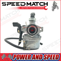 PZ19 Carburetor 19mm Carb Hand Choke Fit For 50cc 70cc 90cc 110cc 125cc Chinese ATV Dirt