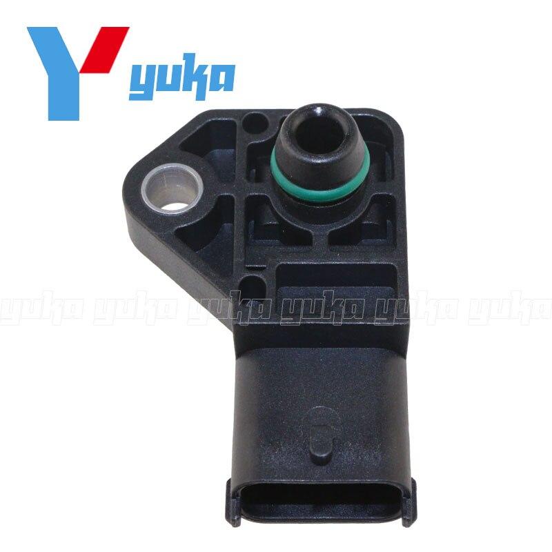 2.5BAR MAP Sensor Manifold Absolute Boost Pressure For Vauxhall Opel ASTRA G H Combo Corsa Meriva 1.7 CDTI 0281002487 9728786