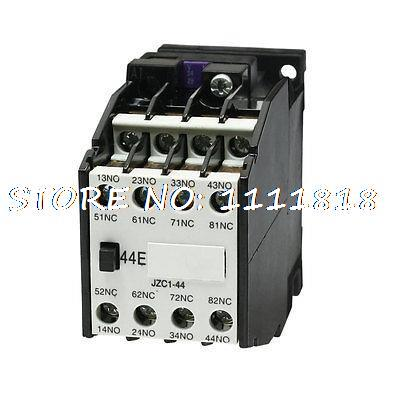 4NO + 4NC Pole 24V/50Hz Coil Ui 660V Ith10A Auxiliary Contactor Relay