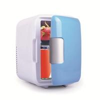 18*23*30cm Auto Mini Car home small refrigerator 4L portable heating and cooling box car fridge compressor small refrigerator