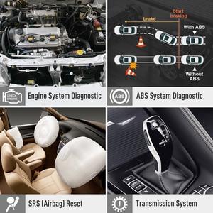 Image 2 - Lançamento x431 crp123 obd2 eobd automotivo scannerabs airbag srs motor de transmissão ferramenta diagnóstico do carro multilingue atualização gratuita