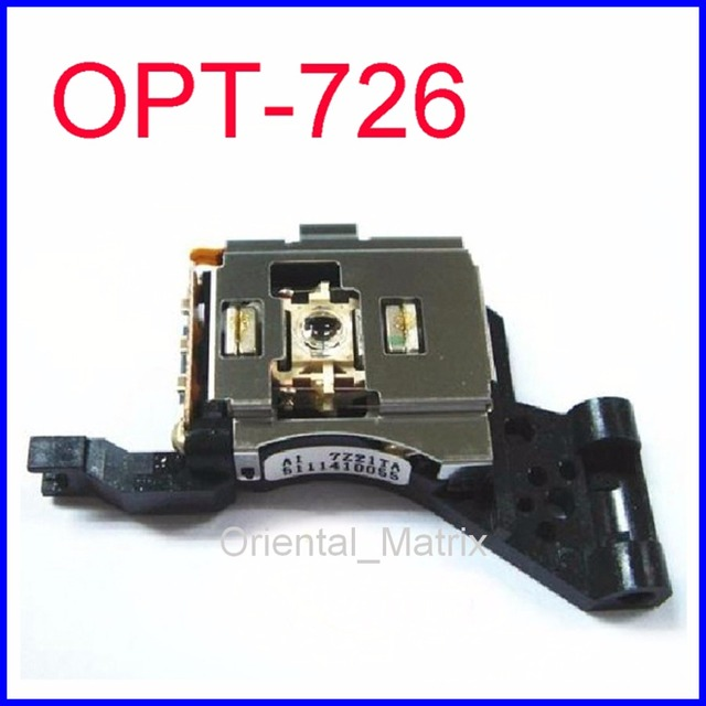 Frete Grátis Optical Pick up Mecanismo Optima-726 OPT-726 Laser Lens Lasereinheit OPT726 Carro KD-G340J OPTIMA726 Para JVC Optical Pick-up