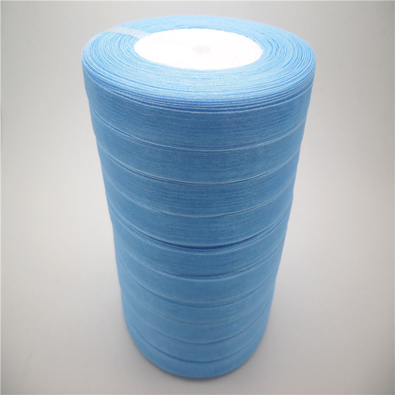 "hot sale Our Price 50Yards 3//8/"" Edge Sheer Organza Ribbon Craft Satin many color"