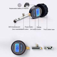 LCD Digital Tire Pressure Gauge 0-200PSI Car Tyre Air Pressure For Motorcycle Cars Truck Bicycle Motorbike Vehicle Tester