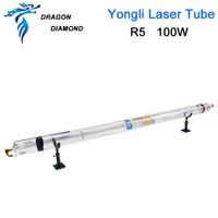 Dragon Diamond Yongli R5 Co2 100W Laser Tube Metal Head Length 1450mm Diameter 80mm for CO2 Laser Engraving Cutting Machine