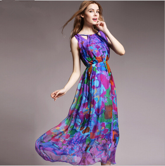 Silk Dresses Women