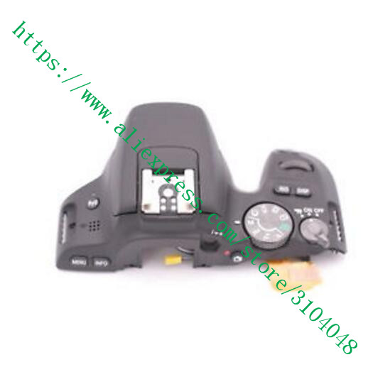 Repair Parts For Canon F OR EOS 200D Kiss X9 Rebel SL2 Top Cover Ass'y With Mode Dial Power Switch Shutter Button Flex ismartdigi replacement lp e5 7 4v 1080mah for canon eos 1000d eos450d eos kiss f more