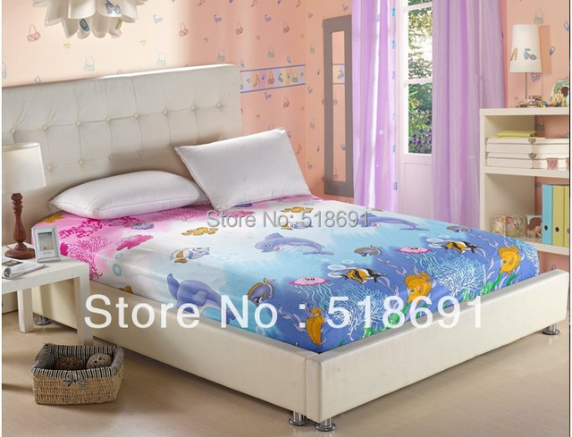 Free shipping  cotton cartoon  bedspread Bed skirts   mattress sets  Textile bedding Factory wholesale 1.2 /1.8m