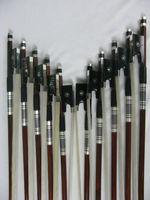 10pcs advanced Pernambuco Violin bow 4/4,silver mount