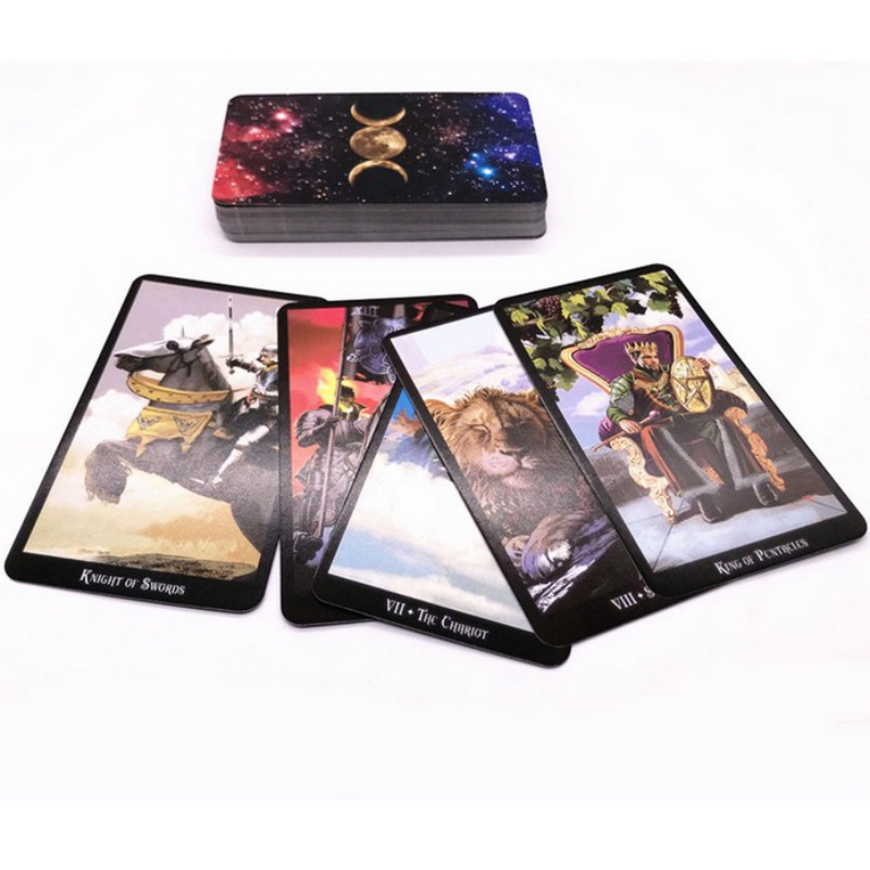 H The Witche Tarot Deck Cards 103 * 60mm, A Total Of 78 Sheets For Beginners And Tarot Lovers