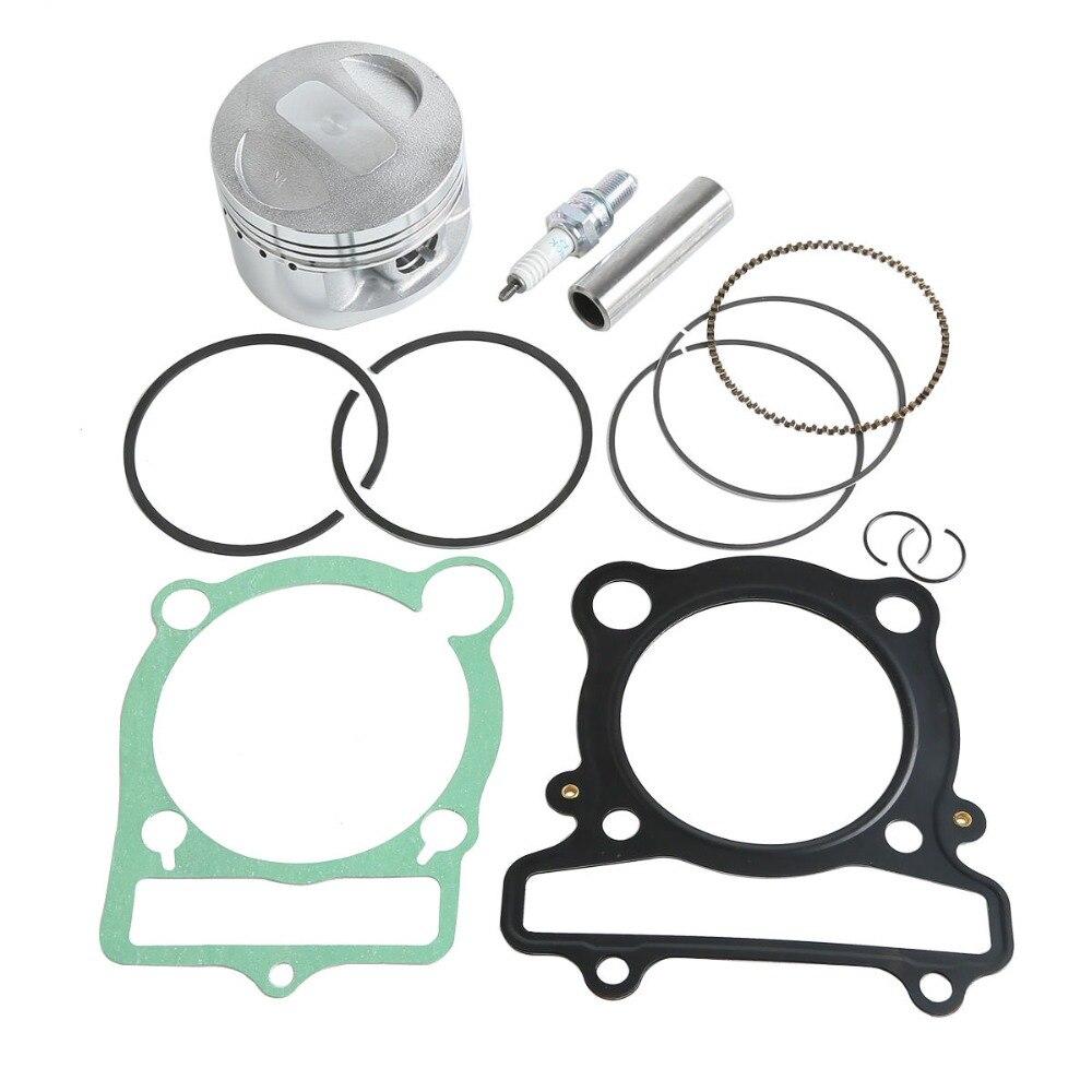 Piston Anneau Broches Joint Spark Plug Kit Pour Yamaha 1987-2004 Guerrier 350 YFM350
