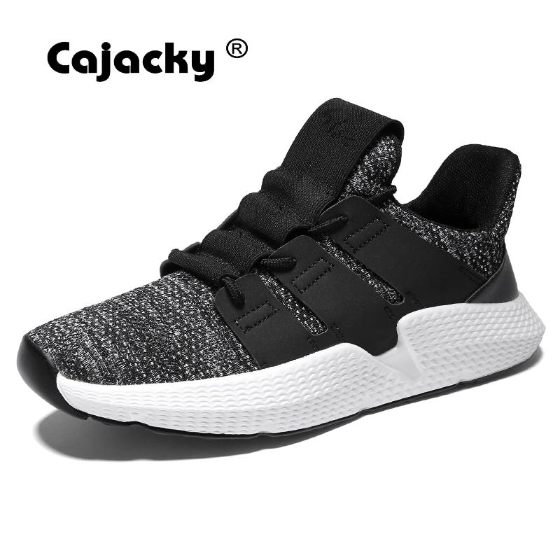 Cajacky Hommes Nouvelle dark Grey Sneakers Chaussures Zapatos Mode Appartements Respirant Maille Faly Armure 2018 Casual Hombre D'été Masculine Gray red Krasovki rrdgXw
