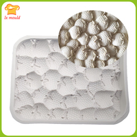 LX MOULD Stereo Strawberry Silicone Mould Cake Mousse Mold Handmade Soap Molds Chocolate Platinum Mold