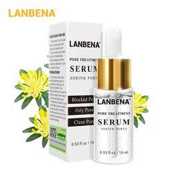 LANBENA лечение пор сывороточная эссенция Усадочные поры укрепляющее увлажняющее масло контроль сухости кожи ремонт Гладкий уход за кожей