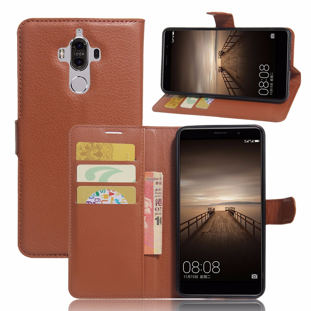 smartphone case for Huawei Mate 9,50pcs/lot,Luxury TPU leather shell for Huawei mate 9,5,9 inch,free shipping,2016 hot sale