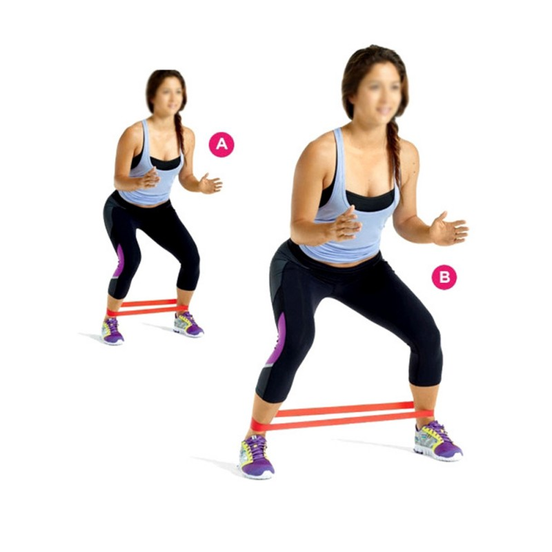 Sports Resistance Band LOOP Light/Med/Heavy Exercise ...