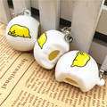 20PCS Squishy Super Cute Lazy Egg Yolk Phone Straps Kawaii Fun Eggs Jun Squeeze Toy Kids