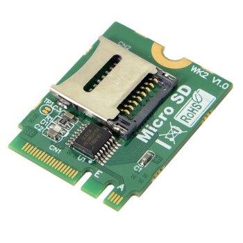 M.2 NGFF key A.E WIFI Slot To Micro SD SDHC SDXC TF card Rearder T-Flash Card M.2 A+E Card Adapter Kit