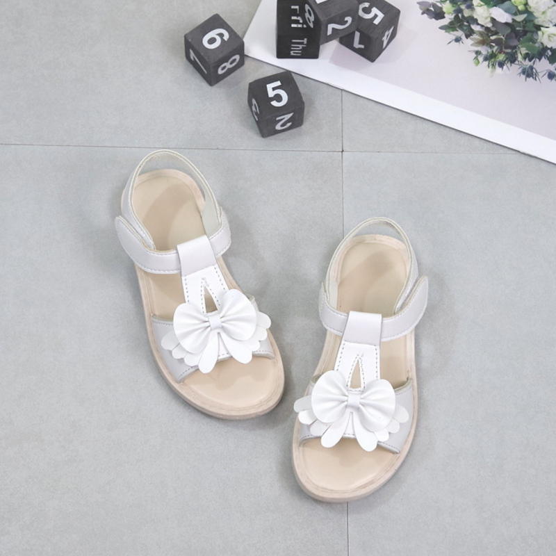 New Summer Children Breathable Sandals Cute Girls Fashion PU Leather Beach Sandals Kids  ...